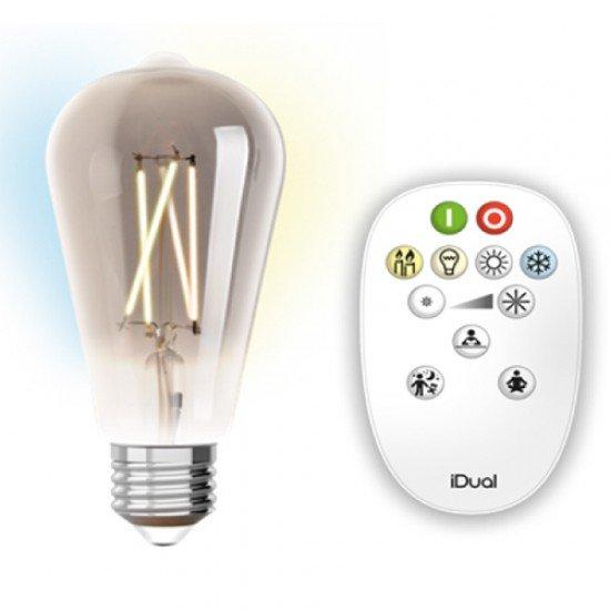laba-led-filament-meli-st64-9w-e27-adjustable-cct-2200-5500k-me-remote-control-220-240v-806lm-360-dimmable-idual