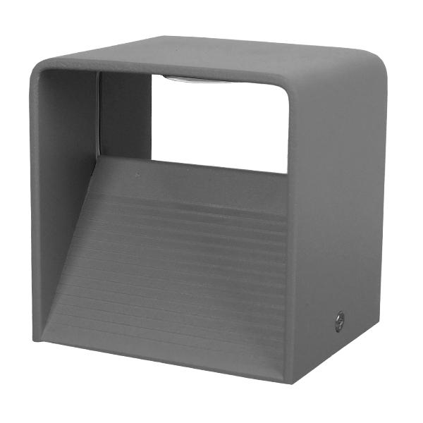 globostar-96437-led-fotistiko-tihou-aplika-kivos-arhitektonikou-fotismou-gri-adiavroho-ip54-10-watt-cree-840lm-60-230v-thermo-leuko-m10-x-p10-x-i8cm