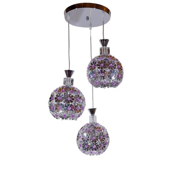 globostar-bouquet-01248-moderno-kremasto-fotistiko-orofis-trifoto-asimi-metalliko-me-kristalla-f50-x-24cm