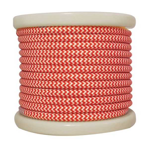 textile-cable-2x075mm-rollo-10mt-kokkino-leuko-diakritiko-el330029