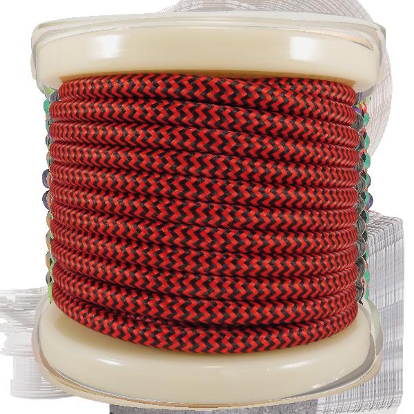 textile-cable-2x075mm-rollo-10mt-kokkino-mauro-diakritiko-el330034