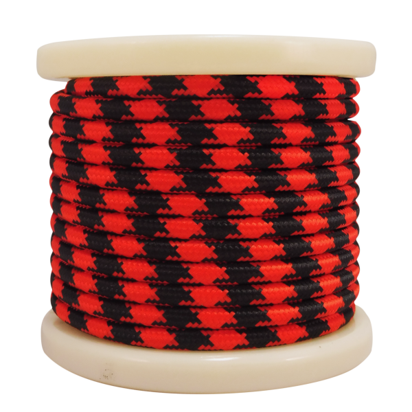textile-cable-2x075mm-rollo-10mt-kokkino-mauro-edono-el330036