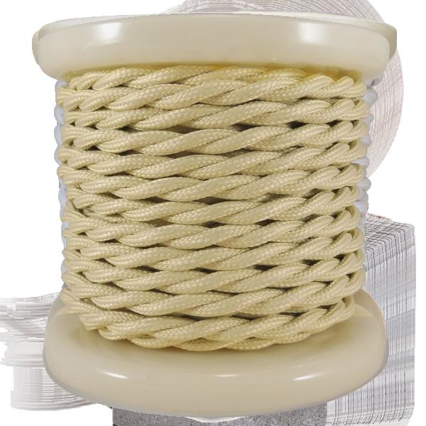 textile-cable-twist-2x075mm-rollo-10mt-bez-el338008