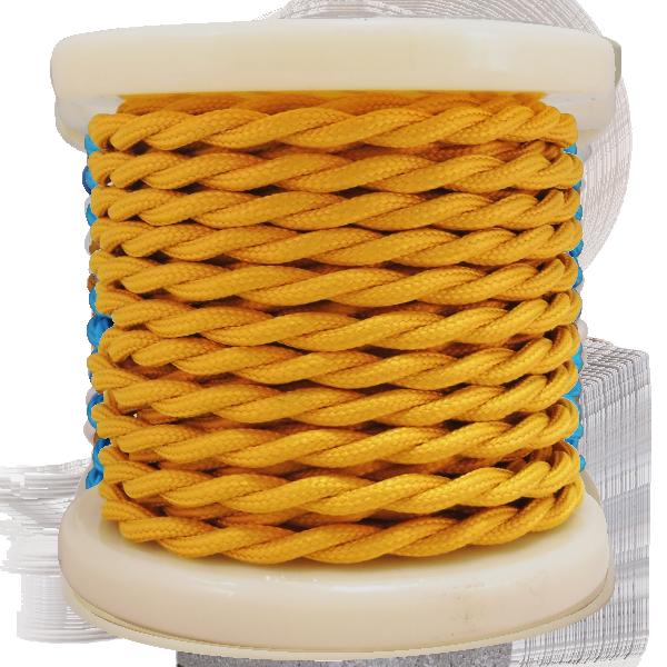 textile-cable-twist-2x075mm-rollo-10mt-kitrino-skouro-el338013