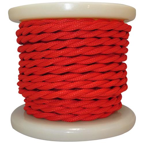 textile-cable-twist-2x075mm-rollo-10mt-kokkino-el338021