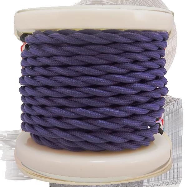 textile-cable-twist-2x075mm-rollo-10mt-mov-skouro-el338026